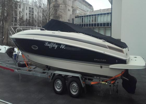 Lodě | Bayliner 742 cuddy+mercruiser 4,5L  V6 MPI 250ps